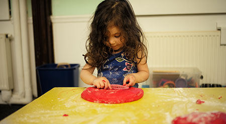 Playdough Table